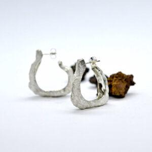 boucles d'oreille-caillou-artisan-createur-bijoutier-joaillier-bijou-grenoble-seyssins-isere-creation-boucles d'oreille-or-argen
